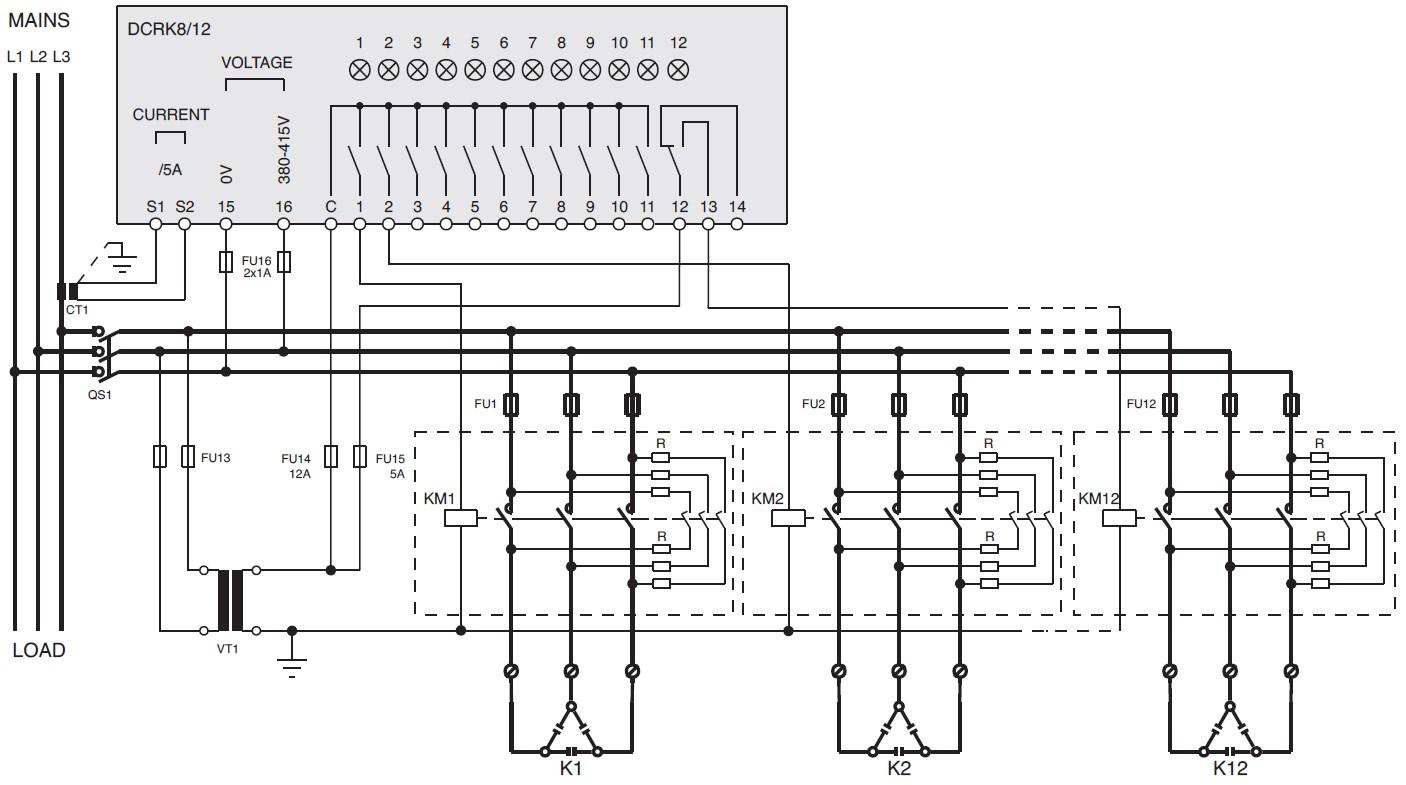 schema_kondensatoriai